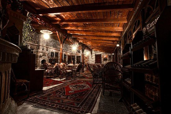 Pacha Hotel: teras