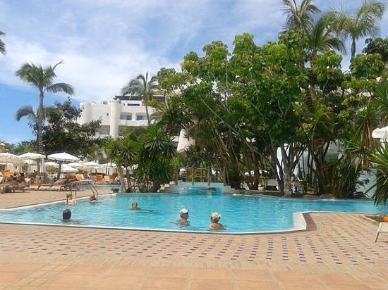 Hotel Jardin Tropical: бассеин