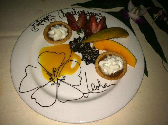 Feast At Lele : Desert - Anniversary style
