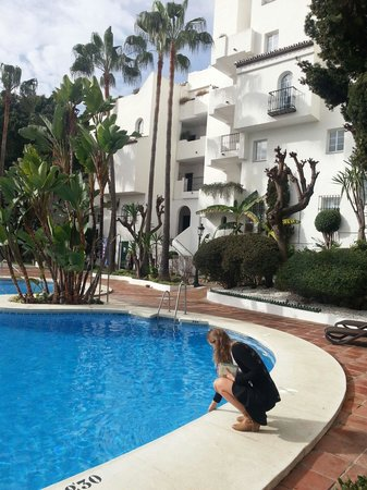 Royal Oasis Club at Pueblo Quinta: Hotel location