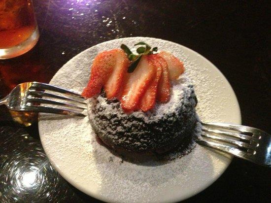 Gatesville, TX: Chocolate Lava Cake!