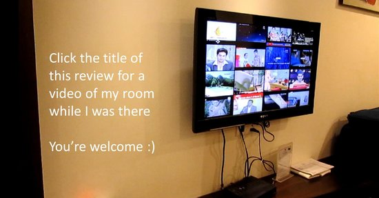 Hotel Le Roi: Flat Screen TV and How to View Video