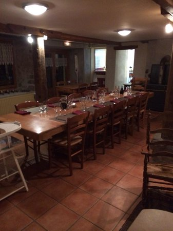 La Grange des Ecrins : Table d'hôte