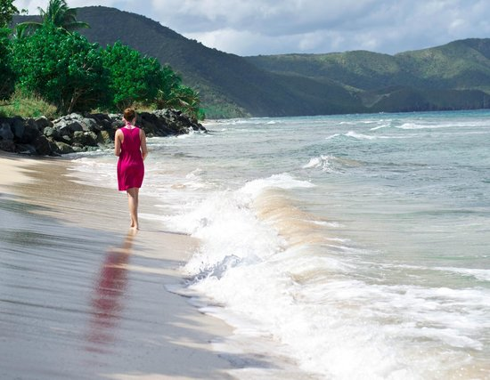 Walking Cane Bay Beach Picture Of St Croix