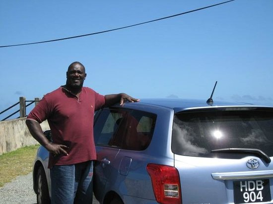 Blue Waters Inn: Andy Orr - our amiable driver - Avion's husband.
