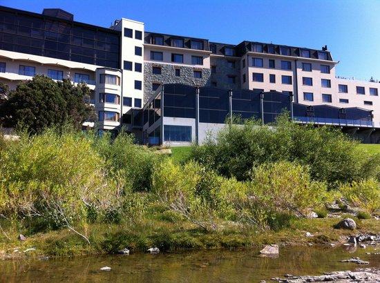 Alma del Lago Suites & Spa: Vista posterior lago