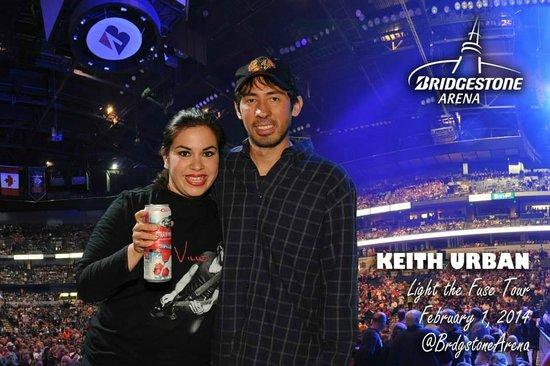 Bridgestone Arena: keith urban