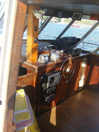 Strea Charters: Classical motor yacht