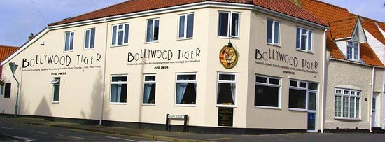 Bollywood Tiger: Front of our restaurant