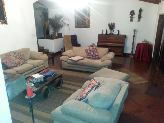 Posada Monterrico: Main Living Area