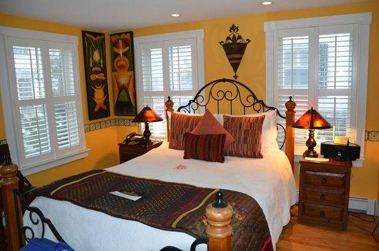 Carpe Diem Guesthouse & Spa : Gemütliches Zimmer mit Kamin