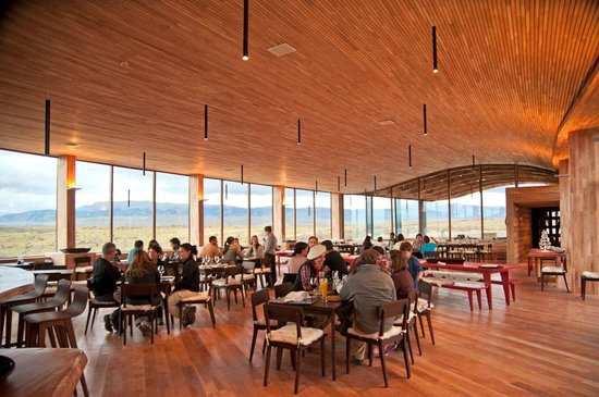 Tierra Patagonia Hotel & Spa: Dining Room
