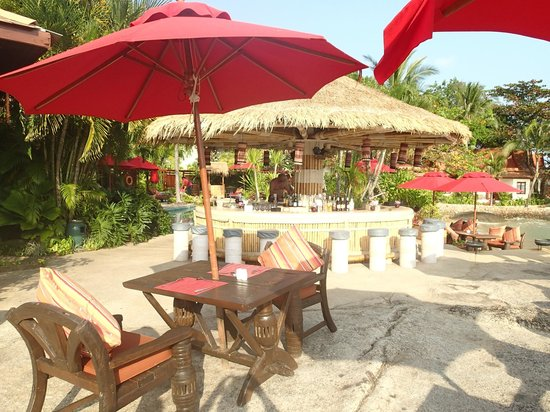 Rocky's Boutique Resort : Le bar près de la piscine