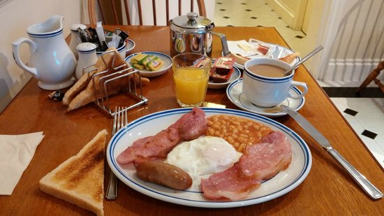 Jesmond Dene Hotel: Full English Breakfast