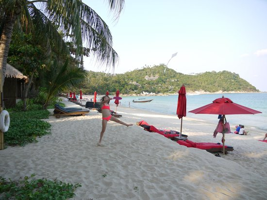 Anantara Rasananda Koh Phangan Villas: Beach scene