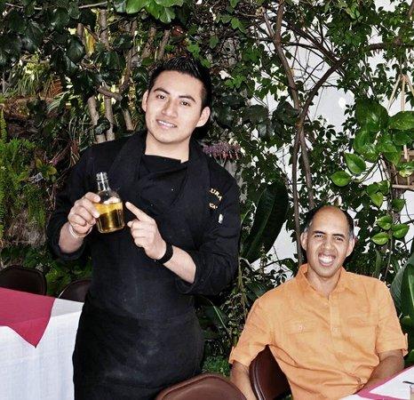 La Teca Restaurant: Y el mezcál  tambien es muy bueno jeje
