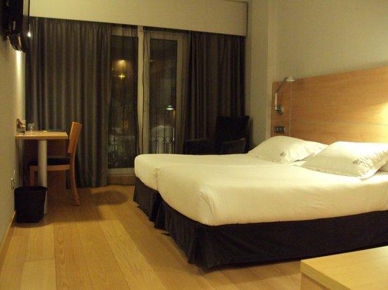 Hotel Jáuregui: Habitación doble estándar
