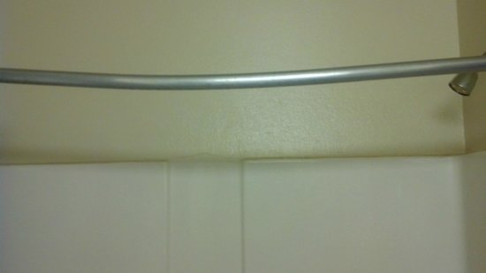 Extended Stay America - Atlanta - Marietta - Windy Hill : bent shower rod