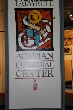 Acadian Cultural Center : entrance to museum