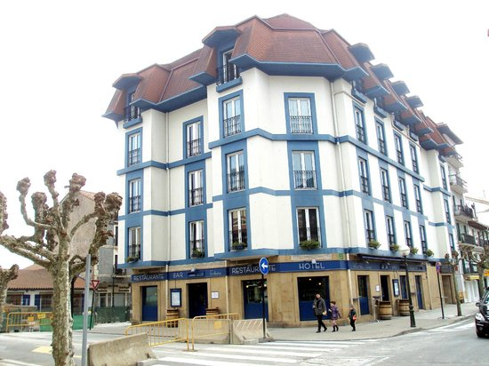 Hotel Jáuregui: Fachada del hotel