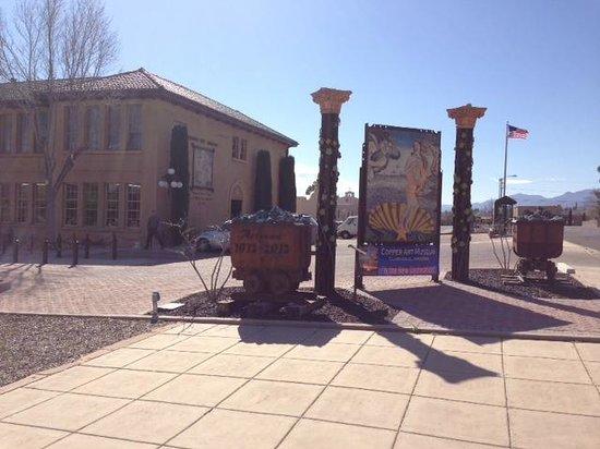 Arizona Copper Art Museum: Copper Art Museum Entrance