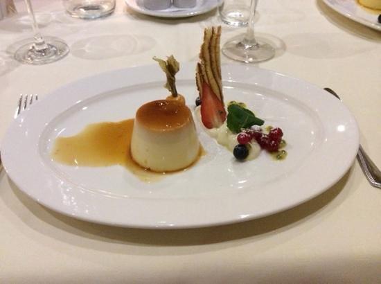 Alpenhotel Tirol Galtur: dessert