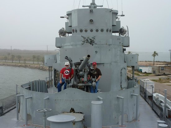 Seawolf Park: On the destroyer at Sealwolf Park