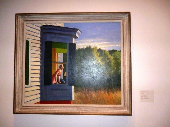 "Smithsonian American Art Museum: Картина Эдварда Хоппера ""Летний вечер"""
