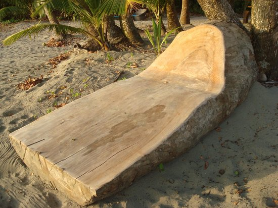 Isla Palenque: homemade lounge