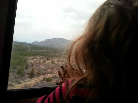 Coast Starlight : My 2-year old enjoyed her first train ride.