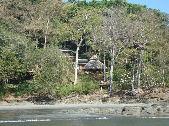 Isla Palenque: Eden where we dined and relaxed