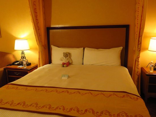 South Point Hotel, Casino and Spa: Bearsize Bed ;-)