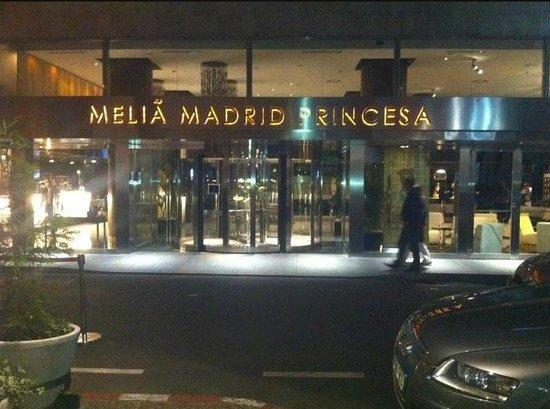 Meliá Madrid Princesa: entrada