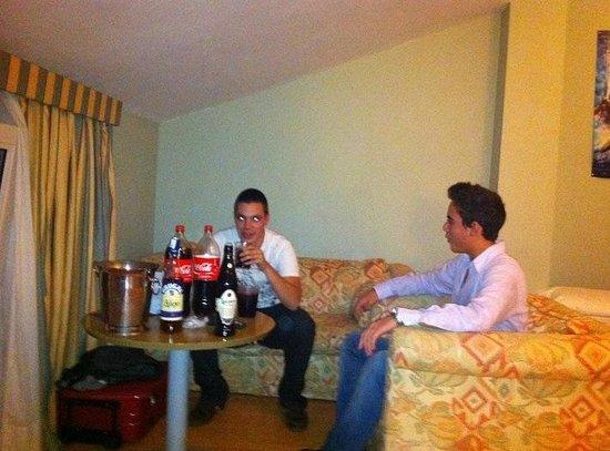 Urdanibia Park Hotel: salón