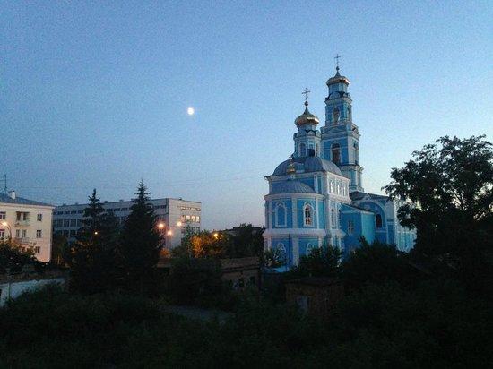 Voznesensky Hotel: Тот самый вид из окна