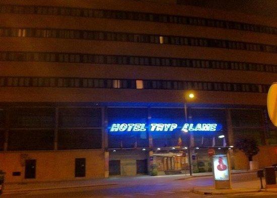 Tryp Malaga Alameda Hotel: entrada