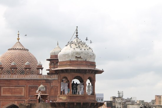 Agra Walks : Jama Masjid on Friday