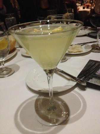 Del Frisco's Double Eagle Steak House : Pineapple infused vodka