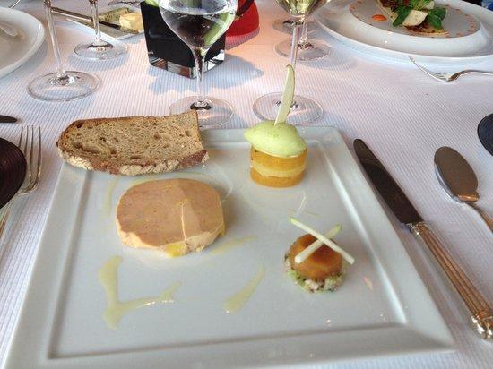 Restaurant Christopher Coutanceau : Foie gras excellent