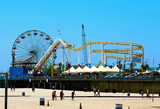 Bikes And Hikes LA : Santa Monica Pier