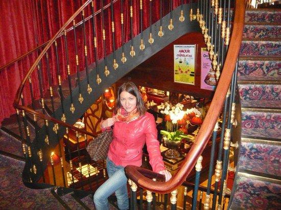 Историческая лестница - Photo de Le Grand Cafe Capucines, Paris ...