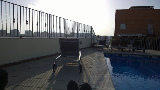 Salles Hotel Malaga Centro: From the rooftop terrace.