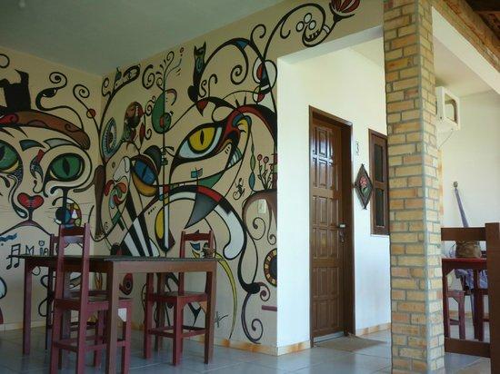 Residenza Canoa: ambiente colazione