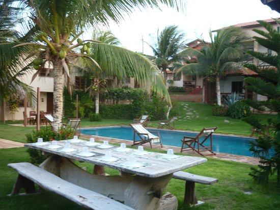 Residenza Canoa: la piscina