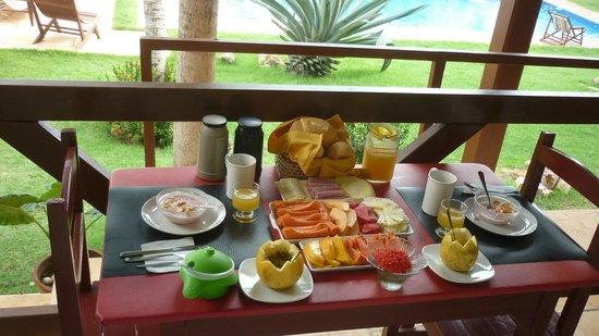 Residenza Canoa : una parte della colazione