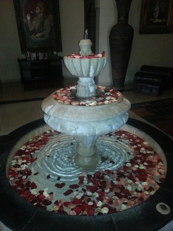 Albakech House: Valentines day fountain