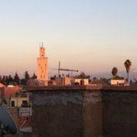 Riad Moucharabieh : View from roof terrace