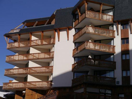 Le Portillo Hotel & Residence: vue de l'hôtel lumière du matin