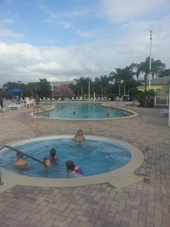 Bahama Bay Resort Orlando by Wyndham Vacation Rentals: One of the pool areas. Pools are large. Good for lap swimming