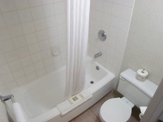 Super 8 Kelowna BC: Bathroom